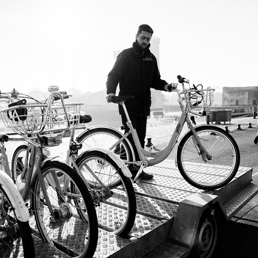 L'équipe des Vélos sur le terrain - RTCR